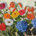 Summer Flowers by Randy Burns