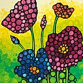Summer Garden by Sharon Cummings