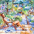 Summer In An Irish Garden  by Trudi Doyle