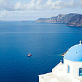 Summer In Santorini - Greece by Matteo Colombo