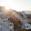 Summer In Santorini by Matteo Colombo