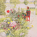Summer In Sundborn by Carl Larsson