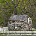 Summer Kitchen In Spring - Colonial Stone by John Stephens