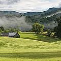 Summer Morning At Bakersville North Carolina by Keith Clontz