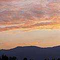 Summer Mountain Dusk by Alan L Graham