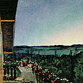 Summer Night by Harald Oscar Sohlberg
