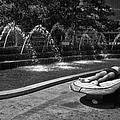 Summer On Columbus Circle by Cornelis Verwaal