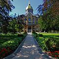 Summer On Notre Dame Campus by Dan Sproul