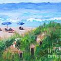 Summer On The Beach by Jan Bennicoff