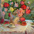 Summer Roses by Diane McClary