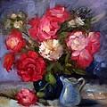 Summer Roses by Karin  Leonard
