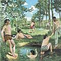 Summer Scene by Frederic Bazille