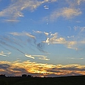 Summer Sets Panorama by Bonfire Photography