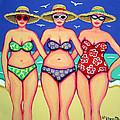 Summer Sisters - Beach by Rebecca Korpita