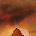 Summer Storm At The Barn by Jai Johnson