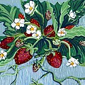 Summer Strawberries by Mary Palmer