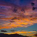 Summer Sunset Colorado by Ernie Echols