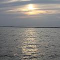 Summer Sunset Over Freeport by John Telfer