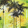 Summer Time In The Tropics By Madart by Megan Duncanson