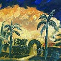 Summer Twilight by Janet Villasmil