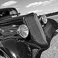 Summertime Blues In Black And White - Ford Coupe Hot Rod by Gill Billington