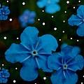 Summertime Blues Pop Art by Pepita Selles