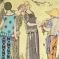 Summertime Dress Designs By Paul Poiret by French School