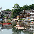 Summertime On Boathouse Row by Alice Gipson