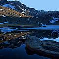Summit Lake Calm by Jim Garrison
