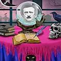 Summoning Edgar Allan Poe by Glenn Holbrook