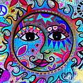Sun And Moon Couple by Pristine Cartera Turkus