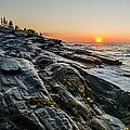 Sun Breaks At Pemaquid Point by At Lands End Photography