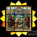 Sun Burst Stained Glass by Frank Welder
