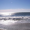 Sun Diamonds On The Surf by Terry Cobb