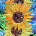 Sun Flower II by Lord Frederick Lyle Morris
