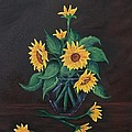 Sun Flowers  by Sharon Duguay