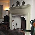 Sun Inn Fireplace by Susan Carella