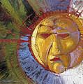 Sun Mask by Randy Wollenmann