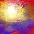 Sun Over The Canyon by Jessica Wright