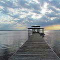 Sun Rays On The Lake by Cynthia Guinn