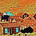 Sun Setting On Bodie by Joseph Coulombe