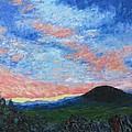 Sun Setting Over Mole Hill - Sold by Judith Espinoza