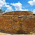 Sun Temple-1250 Ad In Mesa Verde National Park-colorado by Ruth Hager