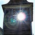 Sun Through The Steeple-by Cathy Anderson by Cathy Anderson