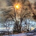 Sun Thru Smoke by Andrew Slater