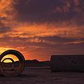 Sun Tunnel Sunset by Dustin  LeFevre