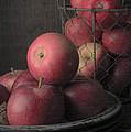 Sun Warmed Apples Still Life by Edward Fielding