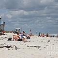 Sunbathers by Michelle Powell