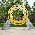 Sunbird Sculpture, Chengdu, China by David Davis