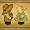 Sunbonnet Sue And Overall Sam by Brenda Bryant